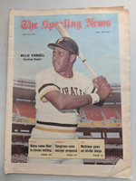 1971 Sporting News May 22 Willie Stargell Pirates Excellent [Dog ear corner, ow clean]