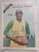 1971 Sporting News June 5 Vida Blue A's Near-Mint [Clean example]