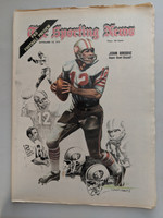 1971 Sporting News September 18 John Brodie 49ers Excellent [Fraying on top edge, ow clean]