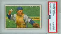 Charlie Silvera AUTOGRAPH d.19 1952 Bowman #197 Yankees PSA/DNA CARD IS EX