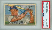 Vern Stephens AUTOGRAPH d.68 1952 Bowman #9 Red Sox PSA/DNA CARD IS CLEAN VG/EX