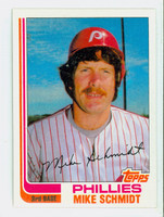 1982 Topps Baseball 100 Mike Schmidt Philadelphia Phillies Near-Mint to Mint