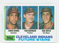 1982 Topps Baseball 141 Indians Rookies Near-Mint to Mint