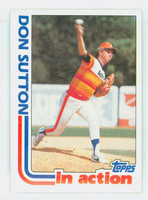 1982 Topps Baseball 306 Don Sutton IA Houston Astros Near-Mint to Mint