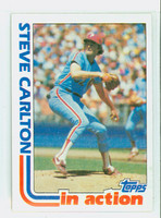 1982 Topps Baseball 481 Steve Carlton IA Philadelphia Phillies Near-Mint to Mint