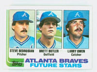 1982 Topps Baseball 502 Braves Rookies Near-Mint to Mint