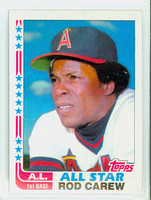 1982 Topps Baseball 547 Rod Carew AS California Angels Near-Mint to Mint