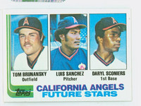 1982 Topps Baseball 653 Angels Rookies Near-Mint to Mint