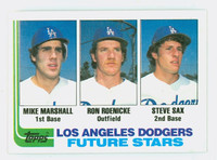 1982 Topps Baseball 681 Dodgers Rookies Near-Mint to Mint
