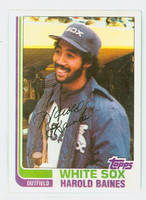 1982 Topps Baseball 684 Harold Baines Chicago White Sox Near-Mint to Mint