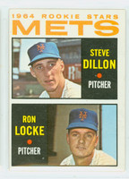 1964 Topps Baseball 556 Mets Rookies High Number Excellent