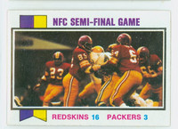 1973 Topps Football 135 Nfc Semi-final Near-Mint