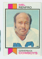 1973 Topps Football 185 Mel Renfro Dallas Cowboys Excellent