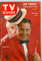 1960 TV Guide Jul 2 Lawrence Welk Colorado edition Excellent - No Mailing Label  [Wear and lt creasing on cover, contents fine]