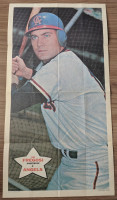 1968 Topps Posters 4 Jim Fregosi California Angels Very Good to Excellent