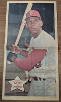 1968 Topps Posters 12 Orlando Cepeda St. Louis Cardinals Very Good