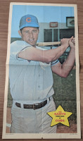 1968 Topps Posters 21 Ron Santo Chicago Cubs Good to Very Good