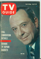 1960 TV Guide Jul 23 John Daly Wisconsin edition Excellent - No Mailing Label  [Lt wear and creasing on cover, contents fine]