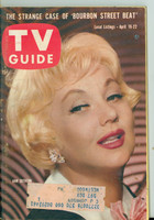1960 TV Guide Apr 16 Ann Southern NY Metro edition Very Good  [Wear and scuffing on cover, contents fine]