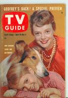 1960 TV Guide Apr 30 Lassie Philadelphia edition Near-Mint - No Mailing Label  [Lt wear on cover, ow clean]