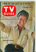 1960 TV Guide Jun 4 Darren McGavin of Riverboat Illinois edition Excellent to Mint - No Mailing Label  [Lt wear on cover; ow very clean]