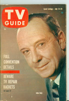 1960 TV Guide Jul 23 John Daly Southern Ohio edition Very Good to Excellent - No Mailing Label  [Lt wear and creasing on cover, contents fine]