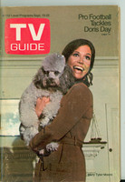 1970 TV Guide Sep 19 Mary Tyler Moore Show (First Cover) Cleveland edition Very Good to Excellent - No Mailing Label  [Lt wear and minor spotting on cover, contents fine]