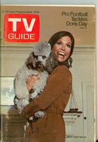 1970 TV Guide Sep 19 Mary Tyler Moore Show (First Cover) Wisconsin edition Very Good - No Mailing Label  [Sl loose at staples, scuffing and creasing on cover; contents fine]