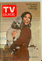 1970 TV Guide Sep 19 Mary Tyler Moore Show (First Cover) Colorado edition Very Good  [Heavy wear and creasing on cover, minor discoloration; contents fine]