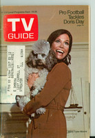 1970 TV Guide Sep 19 Mary Tyler Moore Show (First Cover) Northern Illinois edition Very Good  [Sl loose at staples, scuffing and creasing on cover; contents fine]