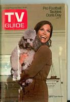 1970 TV Guide Sep 19 Mary Tyler Moore Show (First Cover) NY Metro edition Very Good  [Scuffing and minor discoloration on cover, contents fine]
