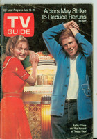 1974 TV Guide Jun 15 Happy Days (First Cover) Eastern Illinois edition Very Good - No Mailing Label  [Wear and lt creasing on cover; stray writing on reverse]