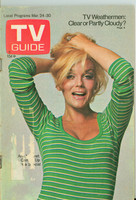 1973 TV Guide Mar 24 Ann-Margaret Portland edition Very Good  [Sl loose at staples, scuffing on cover, label removed]
