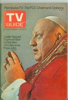 1973 TV Guide Apr 21 Raymond Burr as Pope John Los Angeles edition Excellent - No Mailing Label  [Lt wear on cover, contents fine]