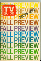 1973 TV Guide September 8 Fall Preview Western Washington edition Very Good - No Mailing Label  [Wear on cover, scuffing and creasing; contents fine]
