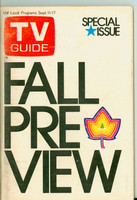 1971 TV Guide September 11 Fall Preview New Mexico edition Excellent to Mint - No Mailing Label  [Lt wear on cover, ow clean]
