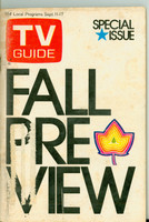 1971 TV Guide September 11 Fall Preview Portland edition Very Good  [Wear and staining on cover, label removed; contents fine]