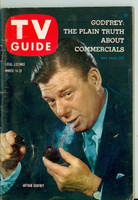 1959 TV Guide Mar 14 Arthur Godfrey Chicago edition Excellent - No Mailing Label  [Lt wear on cover, ow clean]