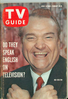 1960 TV Guide Feb 20 Red Skelton Minnesota State edition Excellent - No Mailing Label  [Lt wear on cover,# WRT in logo; contents fine]
