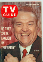1960 TV Guide Feb 20 Red Skelton Pittsburgh edition Excellent - No Mailing Label  [Lt wear on cover, contents fine]