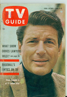 1960 TV Guide Apr 9 Efrem Zimbalist Jr of 77 Sunset Strip Illinois edition Very Good to Excellent - No Mailing Label  [Wear, creasing and scuffing on cover, contents fine]
