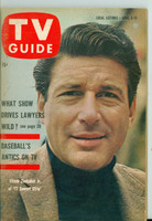 1960 TV Guide Apr 9 Efrem Zimbalist Jr of 77 Sunset Strip Northern California edition Near-Mint - No Mailing Label  [Very clean example]