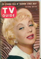 1960 TV Guide Apr 16 Ann Southern Southern Ohio edition Very Good - No Mailing Label  [Heavy crease/crimp on bottom corner, impacts most of book; contents fine]