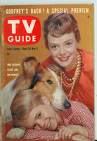 1960 TV Guide Apr 30 June Lockhart and Lassie Southern Ohio edition Excellent - No Mailing Label  [Lt wear on cover, ow clean]