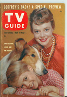 1960 TV Guide Apr 30 June Lockhart and Lassie Kansas City edition Excellent - No Mailing Label  [Lt wear on cover, ow clean]
