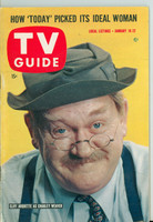 1960 TV Guide Jan 16 Charley Weaver Southern Ohio edition Excellent - No Mailing Label  [Lt wear on cover, contents fine]