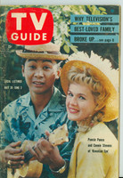 1960 TV Guide May 28 Hawaiian Eye's Connie Stevens Carolina-Tennessee edition Very Good - No Mailing Label  [Wear on cover and binding, contents fine]