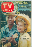 1960 TV Guide May 28 Hawaiian Eye's Connie Stevens Carolina-Tennessee edition Excellent - No Mailing Label  [Wear and scuffing on cover, contents fine]