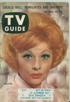 1960 TV Guide Jul 16 Lucille Ball Wisconsin edition Very Good  [Wear and scuffing on cover and binding, contents fine]
