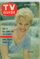 1960 TV Guide Aug 20 Betsy Palmer South East Texas edition Very Good - No Mailing Label  [Heavy wear along binding, contents fine]